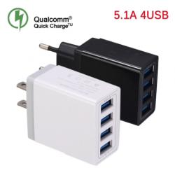 CARGADOR RAPIDO USB DE 4...