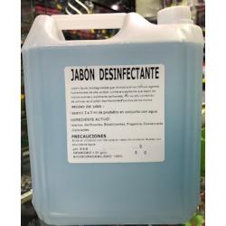 JABON DESINFECTANTE 5 LTS....