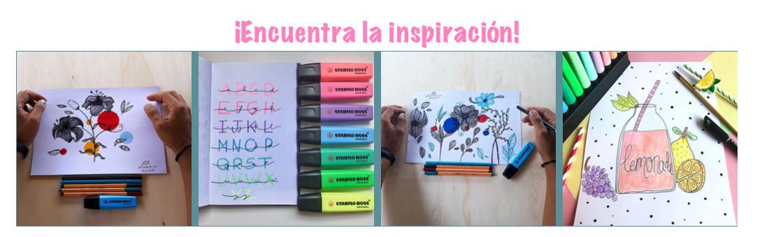 Descubre la inspiración con Stabilo colores pasteles